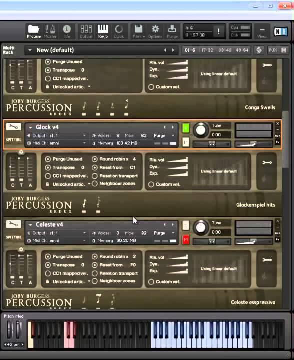 spitfire percussion redux v 1.3 kontakt