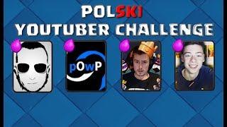 POLSKI YOUTUBER CHALLENGE! GRAM DECKAMI YOUTUBERÓW...