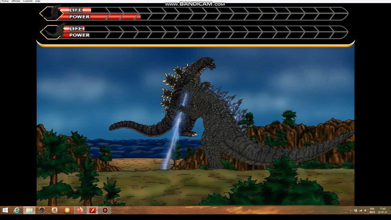 Godzilla 1964 Vs. Legendary Godzilla 2014 - Godzilla Daikaiju Battle Royale