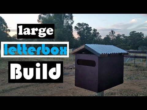 How to build a large letterbox