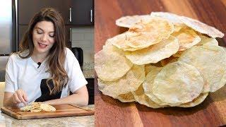 mikrodalgada patates cipsi tarifi canan kurban yemek tarifleri