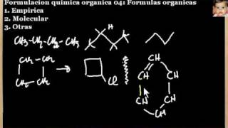Formulacion quimica organica 05: Formulas