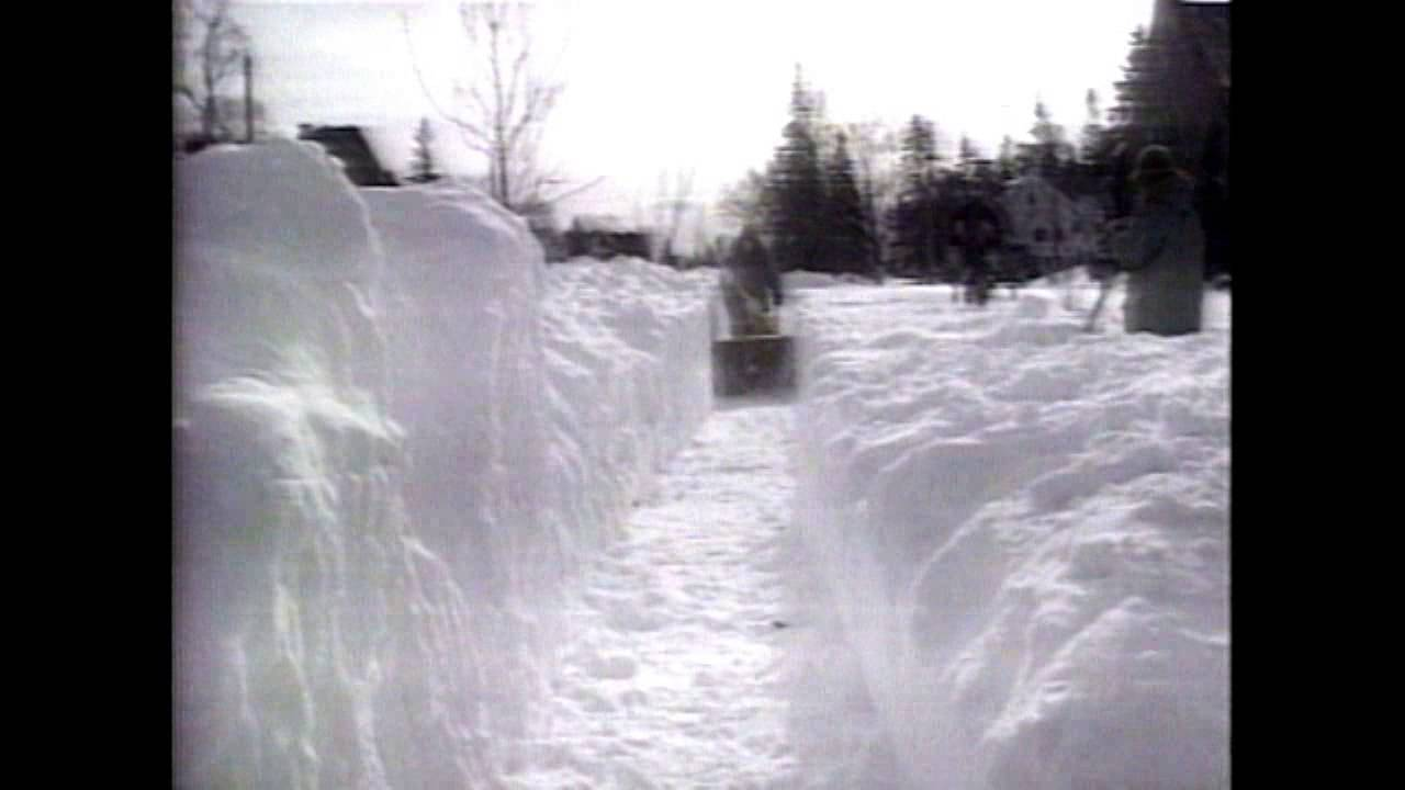 Shawn Recaps The Halloween Blizzard Of 1991 Youtube