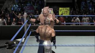 SummerSlam 2010 PPV Simulation -  Rey Mysterio vs Kane 1