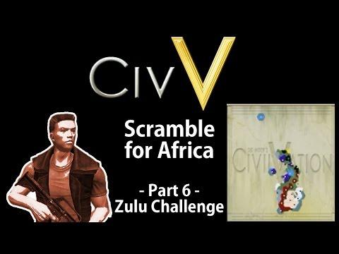 Civilization V: Scramble for Africa - Zulu Challenge - Part 6