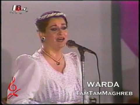 El Oyoun El Soud - Warda 🌹 العيـــون الســـود - وردة - حفل 1986