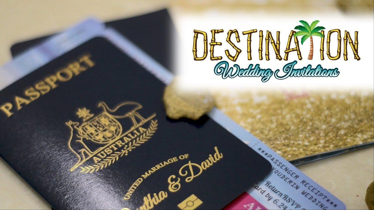Vanessa's Destination Wedding Invitations - Who We Are