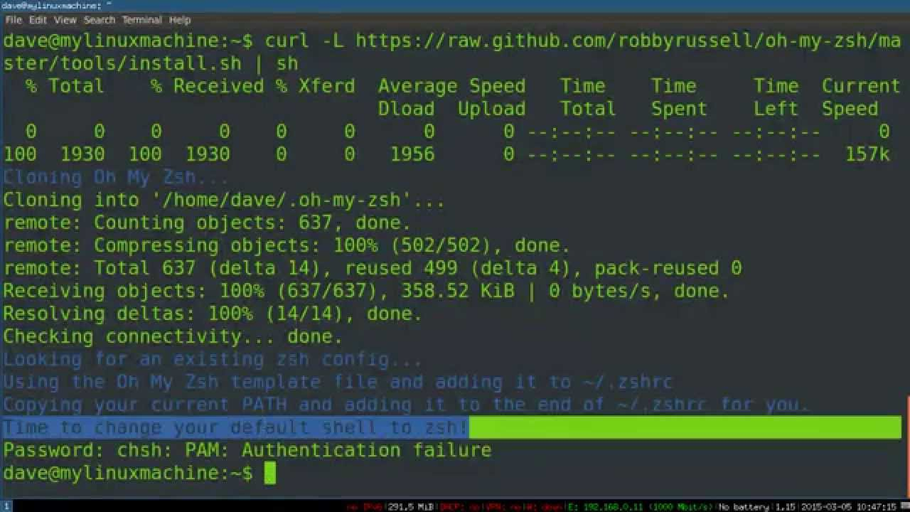 zsh: Getting Started with the Z Shell (and oh-my-zsh)