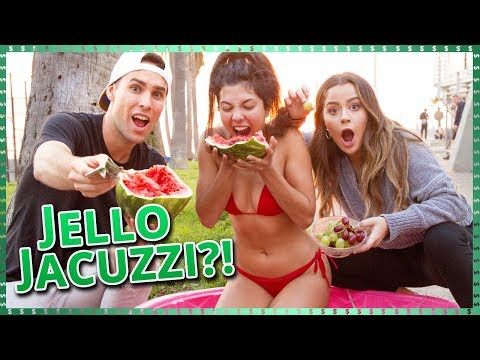 Jello Jacuzzi Challenge!! | Do It For The Dough w/ Tessa Brooks and Tristan Tales