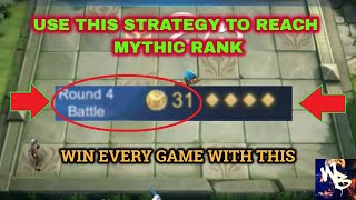BEST MYTHIC EARLY GAME STRATEGY -  TOP MAGIC CHESS SYNERGY - Mobile Legends Bang Bang