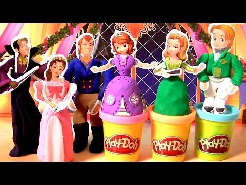 Massinhas Clay Buddies Princesa Sofia Toysbr