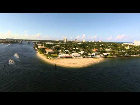 Port Everglades (Fort Lauderdale) - Hafenausfahrt im Zeitraffer