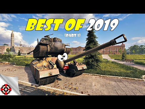World Of Tanks - Funny Moments | BEST OF 2019! (WoT Best Of Epic Wins And Fails, Part 1)
