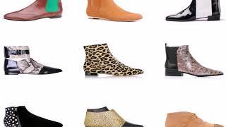 видео Модные женские ботинки и ботильоны Осень-Зима 2018
