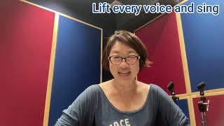 #14 -2[Lift every voice and sing]のはらヒロコ