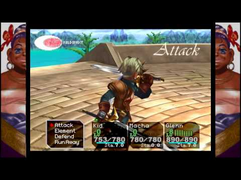 Chrono Cross - Character Technique Showcase (Level 3, 5, 7, Double and Triple techs)