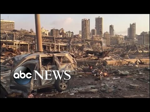 Beirut struggles year after explosion devastated city