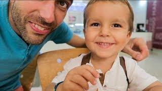 UNE JOURNÉE AVEC PAPA Vlog Family Coste