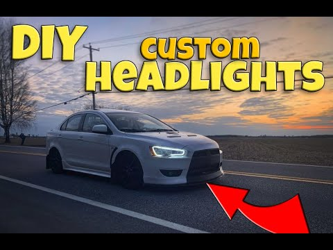 DIY Custom Headlights + Permanent Restoration