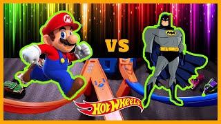 SUPER MARIO vs BATMAN CRASH TOURNAMENT !!!