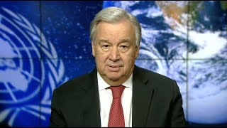 UN chief on International Mother Earth Day (22 April)