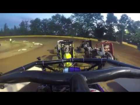Hamlin Speedway - Rookie 600's Feature 6-16-18