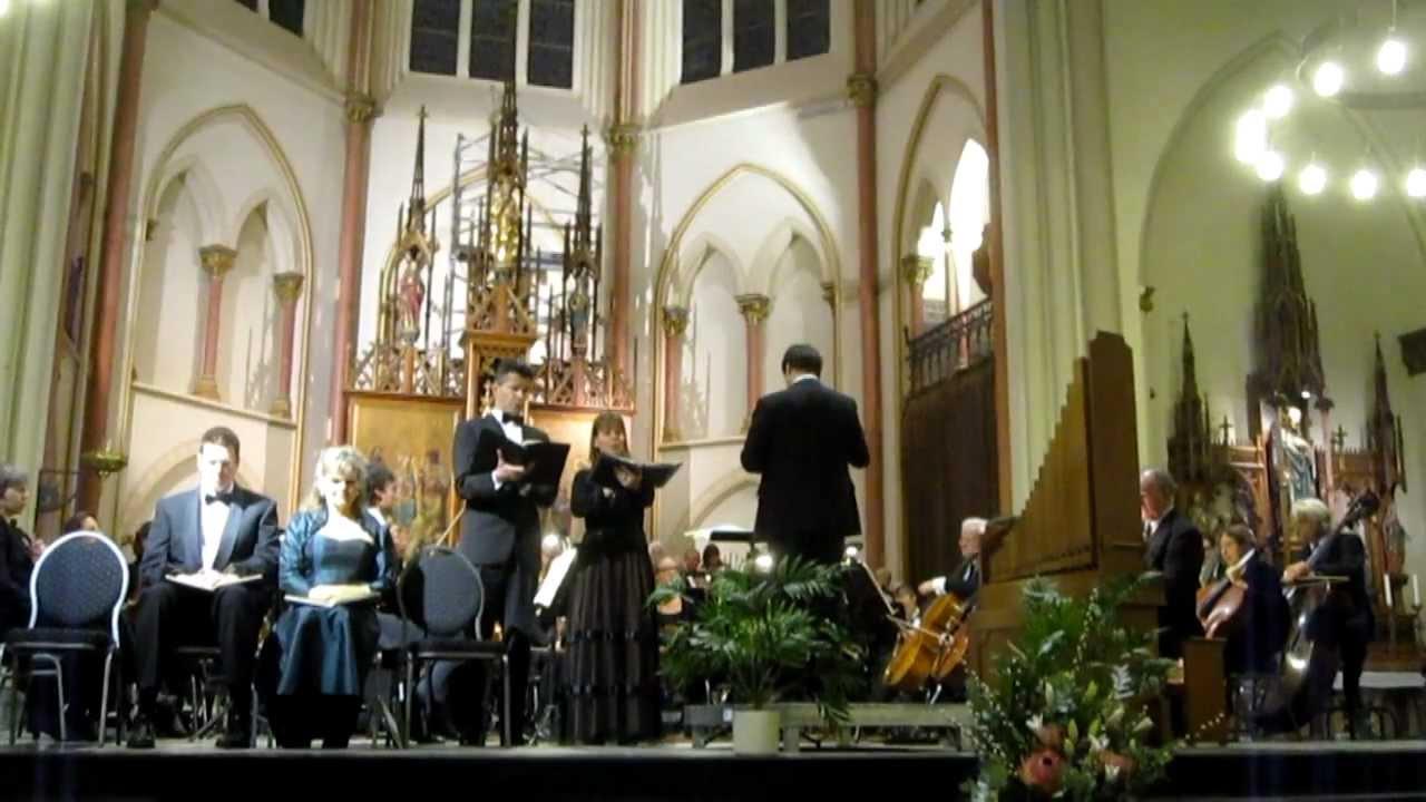 Bach, J.S. Weihnachtsoratorium BWV 248 Cantate III  - Concertkoor Rijswijk 9 december 2011