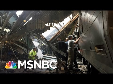N.J. Train Accident In Hoboken Terminal | MSNBC