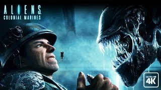 ALIENS: COLONIAL MARINES All Cutscenes (Game Movie) 4K 60FPS