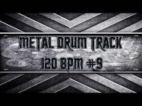 Groovy Nu Metal Drum Track 120 BPM (HQ,HD)