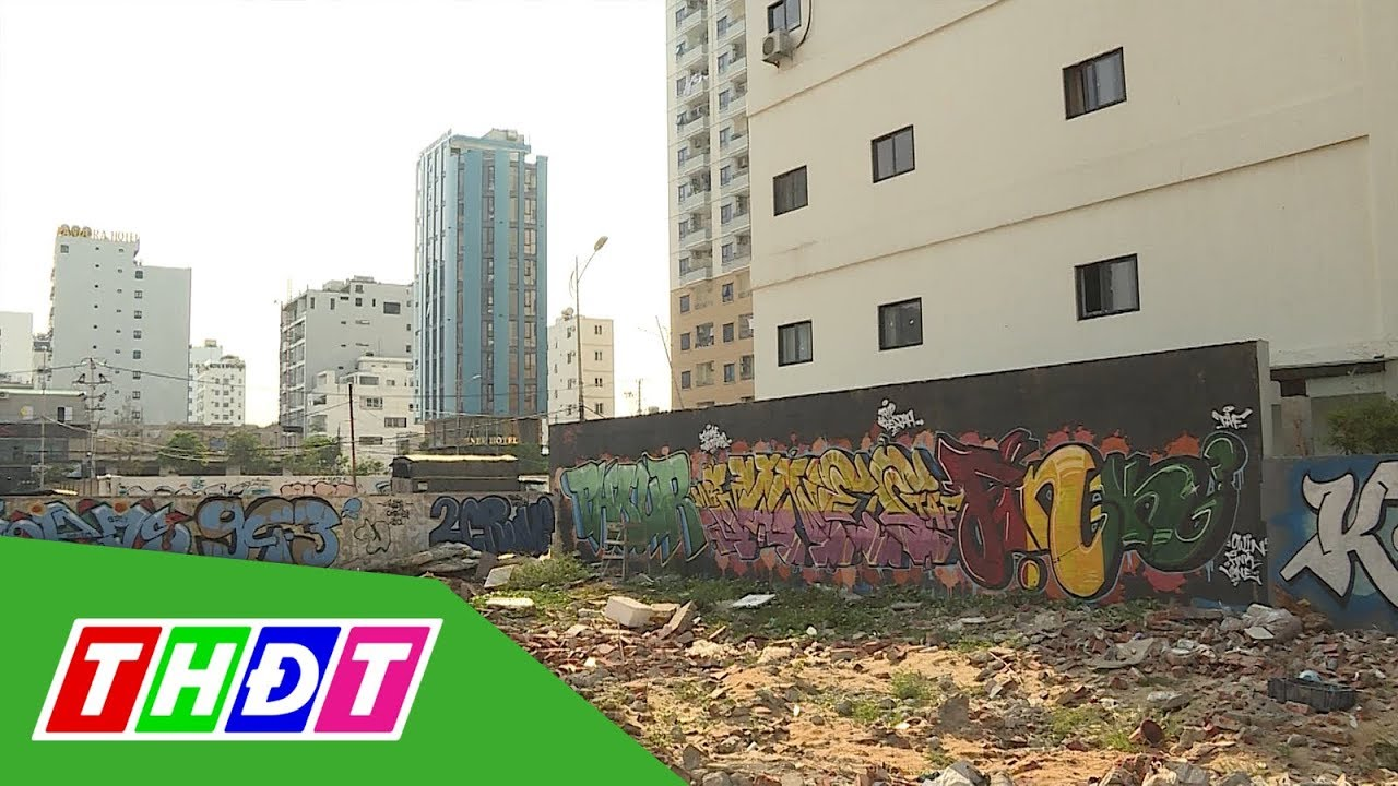 Đà Nẵng: Nhếch nhác tranh vẽ sơn Graffiti | THDT