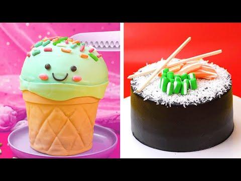 Making Cute Cake Decorating Design Ideas | Amazing Cake Decorating Tutorials | So Yummy Cake 2020