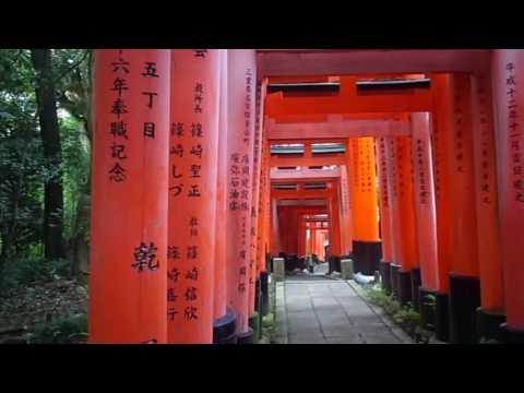 KYOTO,HUSIMI(Grand Shrine)伏見稲荷大社山頂まで到着