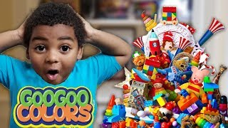 GOO GOO GAGA CLEAN UP! Learn to clean  with our Family!