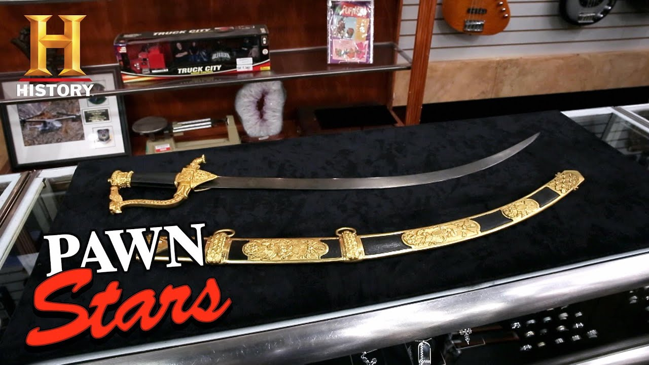 Pawn Stars: Unbelievable Price for Historic Russian Sword (Season 17)   History