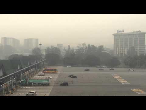 Malaysian Haze from Subang Toll 4:00pm 26 Sept 2015