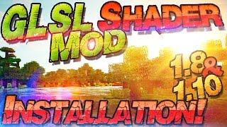 Shaders Mod 1.10 & 1.8 Installieren [GLSL] ➤ Minecraft 1.10 ★ Schatten Mod | Deutsch Mac Windows