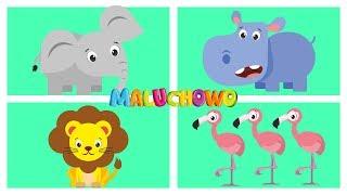MALUCHOWO - Zwierzęta w Afryce - Bajka dla dzieci