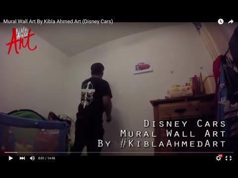 Mural Wall Art By Kibla Ahmed Art (Disney Cars)