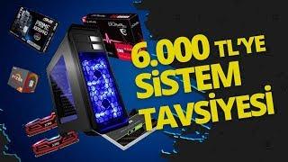 6.000 TL bütçe ile oyun bilgisayarı topladık!