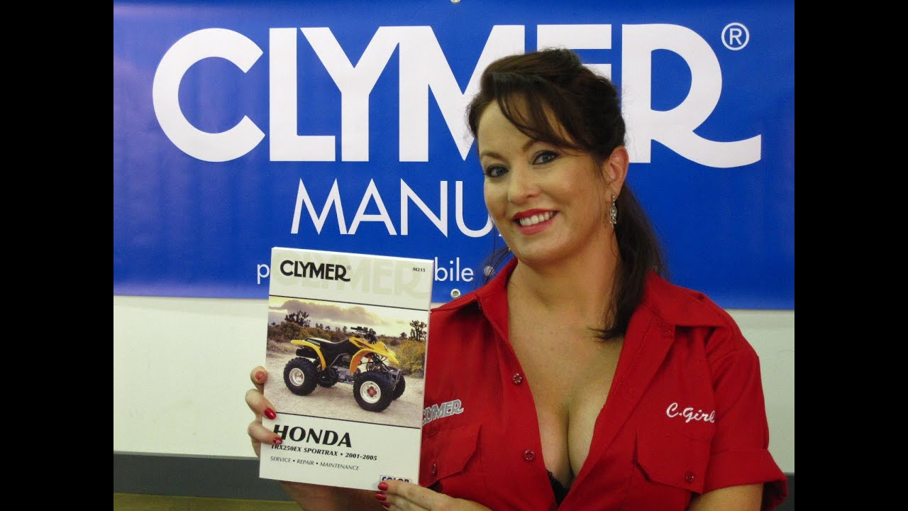 Clymer Manuals Honda Trx250 Manual Recon Trx250es Es 01 Foreman Wiring Diagram Atv Four Wheeler Video