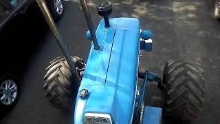 Modified Ford 3600 with big tyre