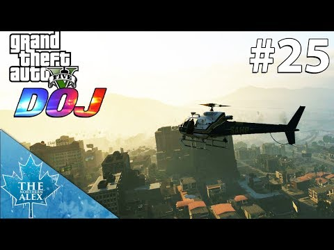 GTA V Department of Justice #25 - Air One in high demand - (Law Enforcement)