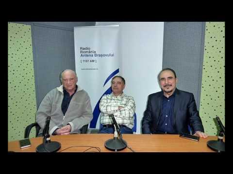 Basul Marcel Rosca in studioul Radio Romania Antena Brasovului