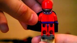 Обзор набора LEGO 6866 Вертолет Дэдпула