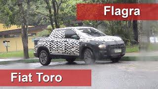 Fiat Toro é flagrada em fase final de testes. Picape chega em 2016