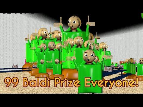 99 Baldi Prize! | Mod Menu Everyone Has Swapped [Baldi's Basics Mod]