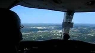 Cessna Citation Landing