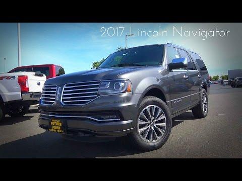 2017 Lincoln Navigator 3.5 L Twin Turbo V6 Review