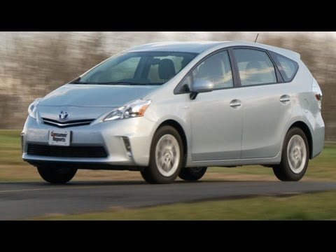 Toyota Prius V review from Consumer Reports